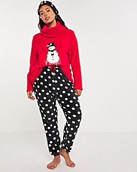 Pretty Secrets Snowman Fleece Gift Set
