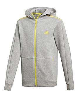 0b35fb55f adidas Younger Boys ID Full Zip Hoodie