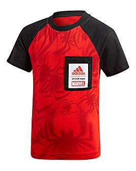 adidas Little Boys Spider Man T-Shirt