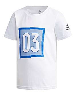 adidas Little Boys Graphic T-Shirt