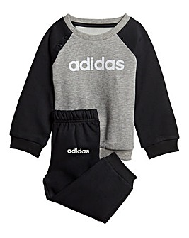 adidas Infant Linear Fleece Tracksuit