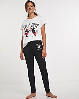 Mickey and Minnie True Love Legging Set