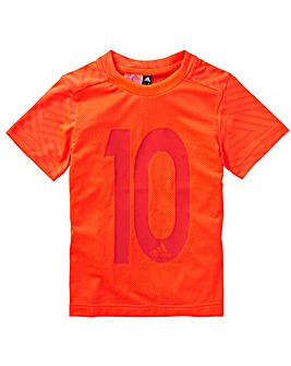 adidas Younger Boys Messi Icon T-Shirt