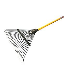 Lawn Rake - Fibreglass Shaft