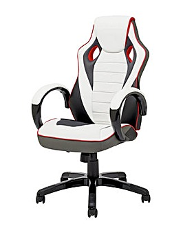 X-Rocker Leather Effect Gaming Chair