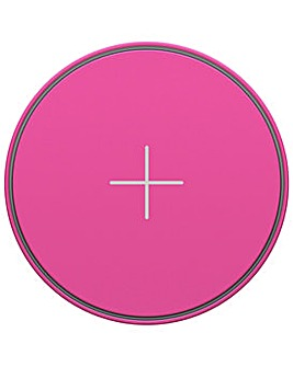 Juice Pad 10W Wireless Charger - Pink
