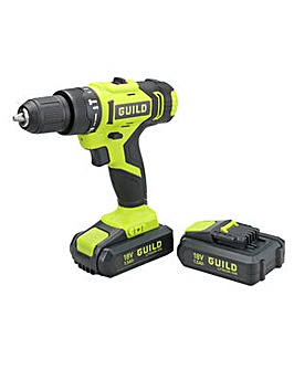Guild 18V Combi Drill 2 Batteries