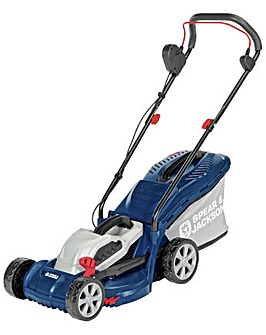 32cm Corded Rotary Lawnmower - 1200W