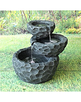 Gardenwize Solar Layer Fountain Rocks