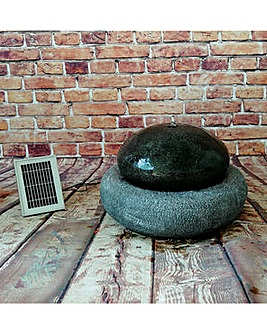 Gardenwize Solar Pebble Fountain