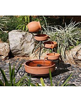 Gardenwize Solar Cascade Fountain