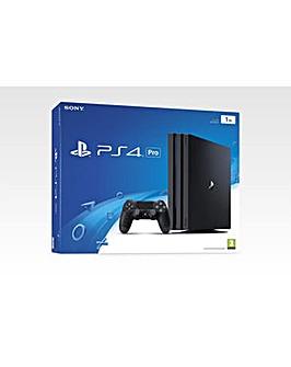 PS4 Pro 1TB Black Console