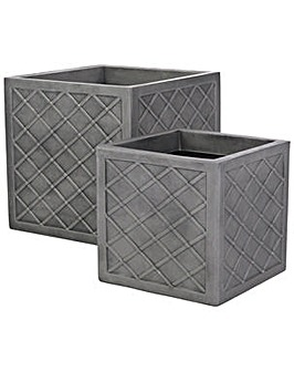 Sankey Square Lazio Planters - Set of 2