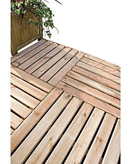 Decking Tiles - Pack of 4