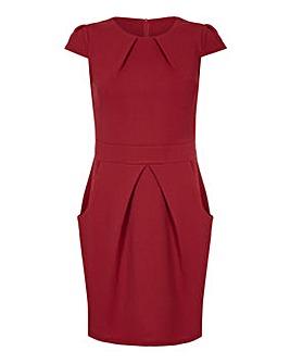 Mela London Curve Capped Tulip Dress