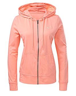 Reebok Identity Jersey Full Zip Sweatshirt