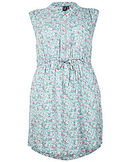 Izabel London Curve Rose Print Dress