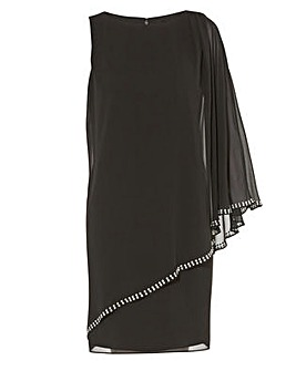 Gina Bacconi Ursa Chiffon Dress