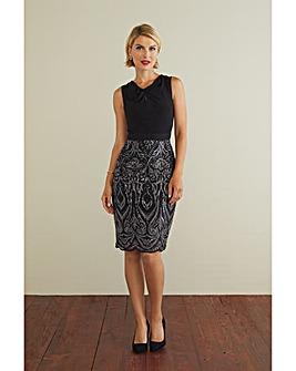 Gina Bacconi Mazie Sequin Dress