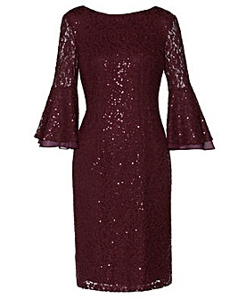 Gina Bacconi Amina Sequin Dress