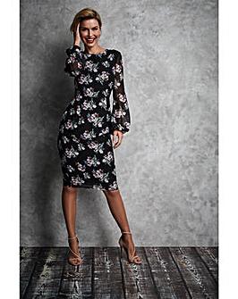 Gina Bacconi Malwina Chiffon Dress
