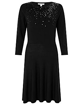 Monsoon Sula Sequin Scatter Dress