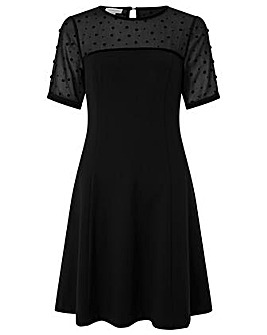 Monsoon Petronella Ponte Short Dress