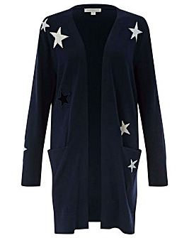Monsoon Stasia Stars Jacquard Cardigan