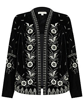 Monsoon Victoria Embroidered Jacket