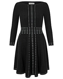 Monsoon Freja Placed Print  Dress