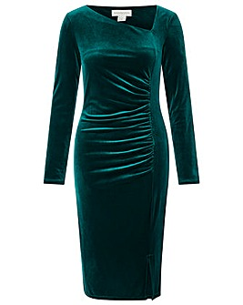 Monsoon Catriona Velvet Shift Dress