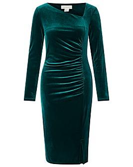 Monsoon Catriona Velvet Shift Dress