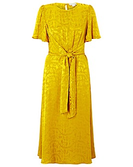 Monsoon Joenie Jacquard Wrap Dress