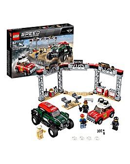 LEGO 1967 Mini Cooper S & 2018 Mini