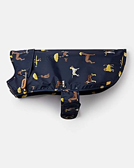 Joules Navy Dog Raincoat - Medium