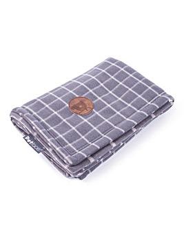 Petface Check Comforter Blanket