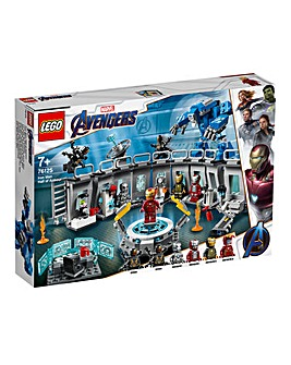 LEGO Avengers Iron Man Hall of Armour