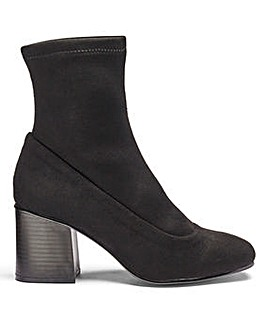 Rosie Stretch Sock Boot Extra Wide Fit