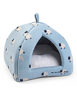 Counting Sheep Cat Igloo