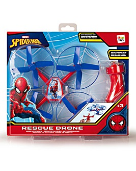Rescue Flying Drone Spiderman