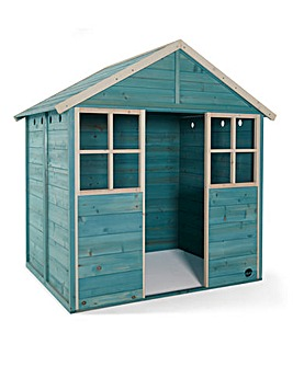 Plum Garden Hut Wooden Playhouse