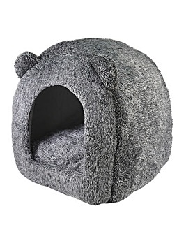 Rosewood Teddy Bear Cat Bed