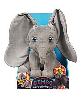 Dumbo Live Action Flopping Ear Plush