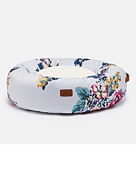 Joules Cambridge Floral Donut Bed