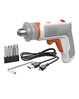 Black + Decker 3.6v Lithium Ion Furniture assembly Tool/Hex Driver