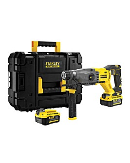 STANLEY FATMAX 18v SDS Drill + Kit Box