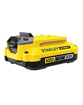 STANLEY FATMAX High Performance Lithium Ion 18v 2.0Ah Battery