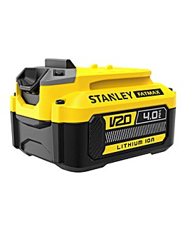 STANLEY FATMAX High Performance Lithium Ion 18v 4.0Ah Battery