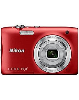 Nikon A100 20MP 5x Zoom Compact Camera