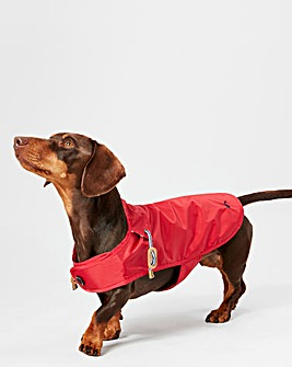 Joules Red Water Resistant Coat - Medium